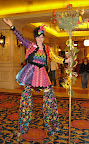 Kaleidoscope on stilts at Showboat Casino in Atlantic City