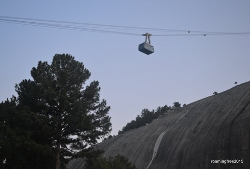 Skyride over the mountain