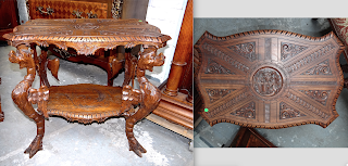 Кофейный столик. 19-й век. 73/49/70 см.