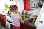 Księżniczka też zmywa naczynia
