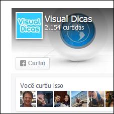 Como configurar a sua like box do Facebook na nova versão - Visual Dicas