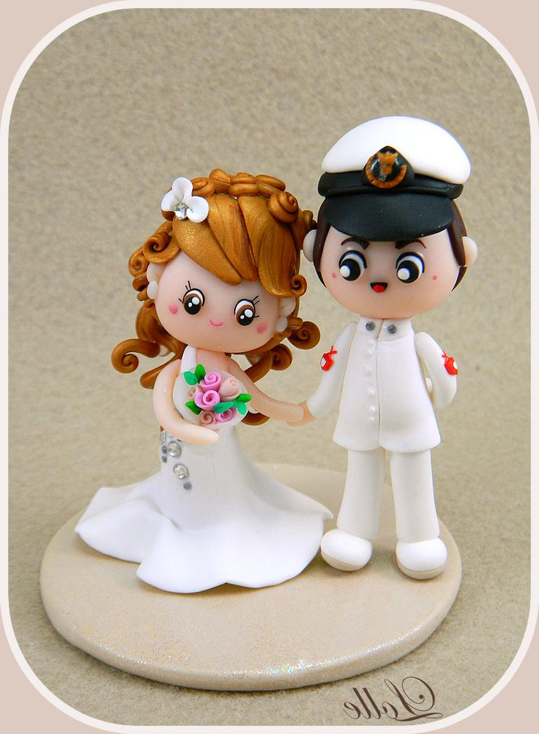 Wedding cake topper by