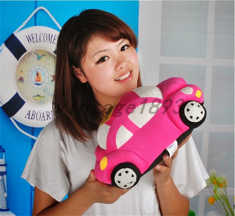 creative cushion car shaped pillow stuffed doll soft toy kids birthday gift ebay