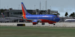 """Spreading the Luv"" seen ready to depart Ft. Lauderdale - FLL"