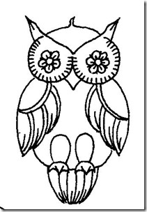 dibujos de buhod en blanco y negro (26)
