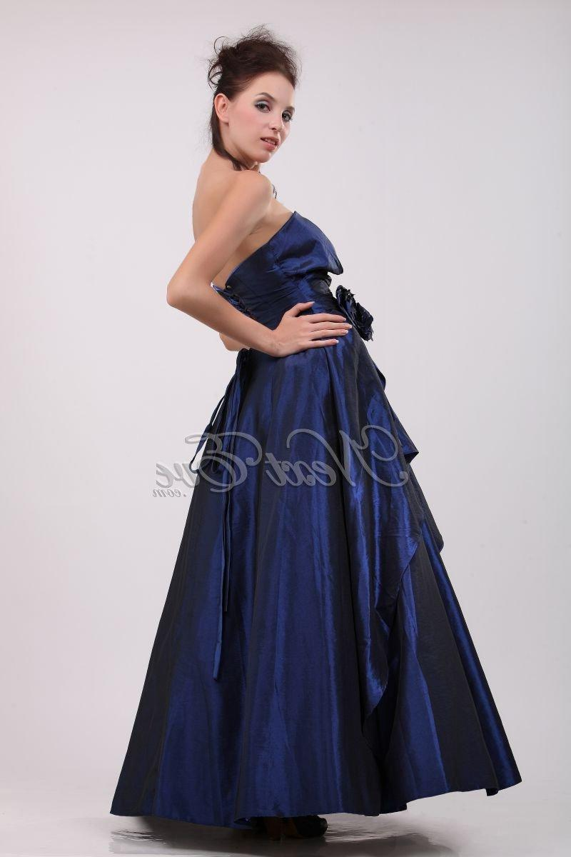 Glamorous Royal Blue Strapless