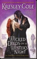 wicked deeds on a winter night original