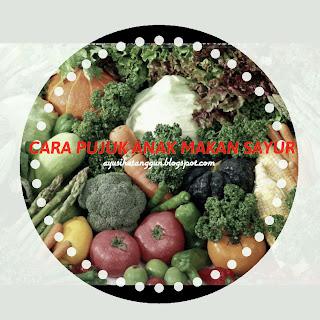 Tip dan cara pujuk anak makan sayur