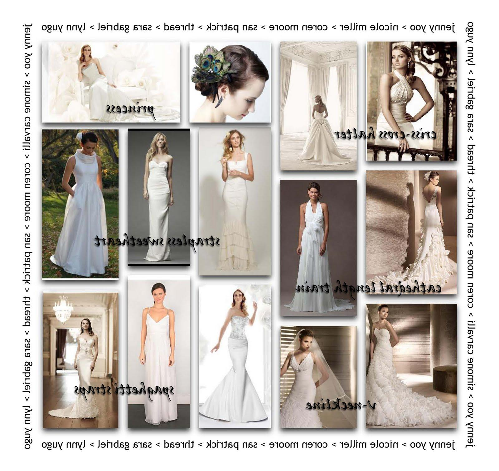 wedding dress gown terms