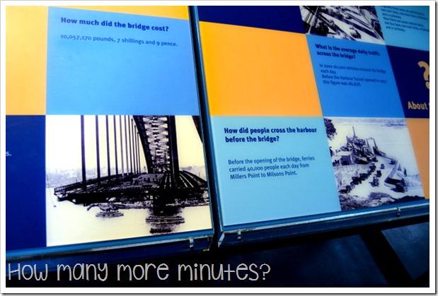 Sydney: Climbing the Bridge ~ How Many More Minutes?