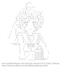 [AA]Kawashima Sapphire Salute (Hibike! Euphonium)