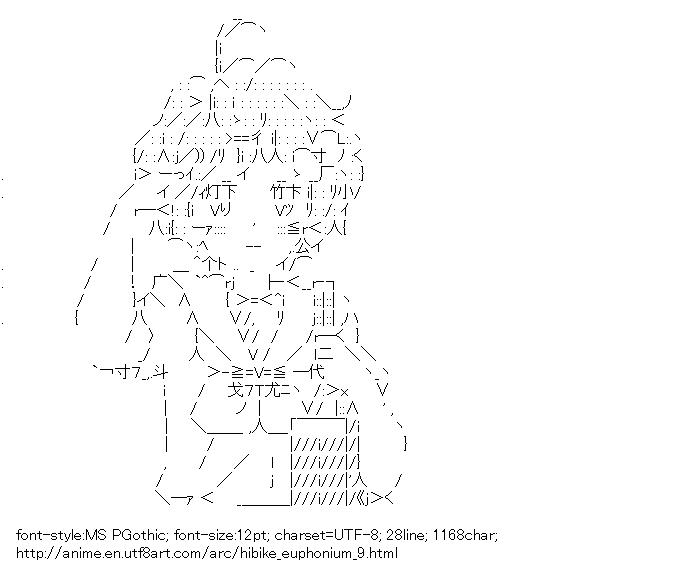Hibike! Euphonium,Kawashima Sapphire,Salute