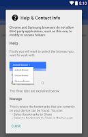 Screenshot of Bookmark Import Tool