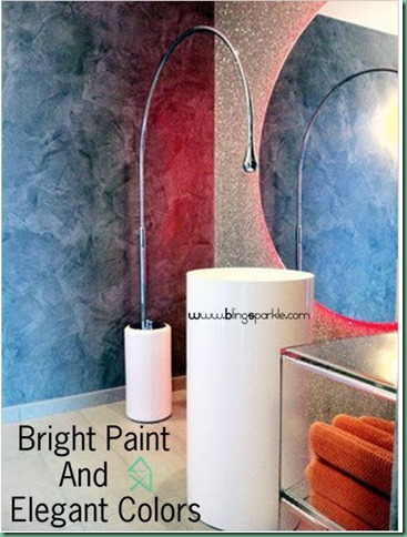 bright paint and elegant colors