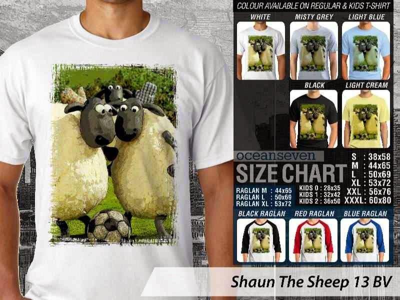 Kaos Movie Shaun The Sheep 13 distro ocean seven