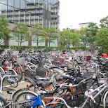 many bikes in osaka in Osaka, Osaka, Japan