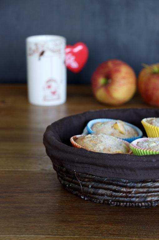 Vegane Apfel Muffins