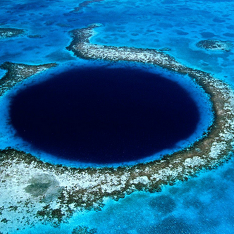 5 MOST IMPRESSIVE BLUE HOLES AROUND THE WORLD