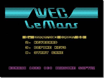 wec lemans msx