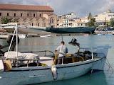 De haven van Zakynthos-Stad.