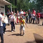 Baile loco del equipo Amarillo