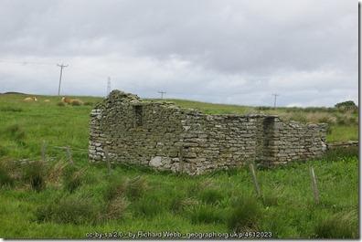 Ruin at Borgue