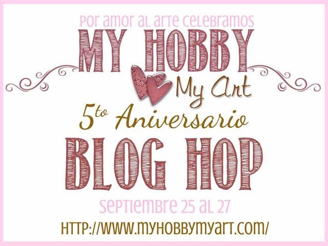 Por amor al arte 5o aniversario My Hobby My art