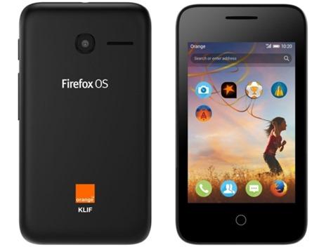 Orange Klif Firefox OS puhelin (c) gsm arena