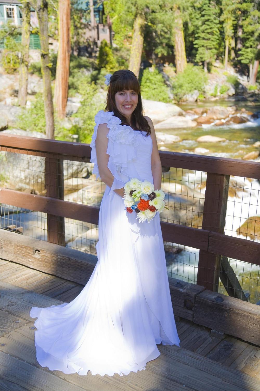 Chiffon Grecian Style Wedding
