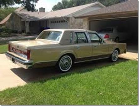 1983 town car
