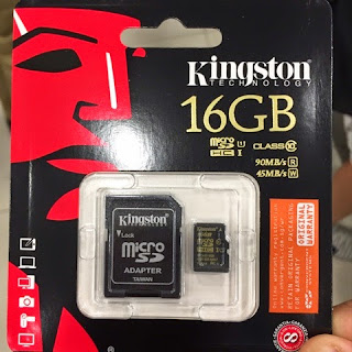 Kingston MicroSD card with Adapter