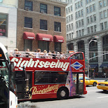 sightseeing broadway in New York City, New York, United States