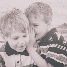 Brothers by Anna Varwig - Babies & Children Children Candids ( best friends, boys, kids, siblings, brothers )