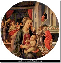 Virgin-and-Child,-Tondo