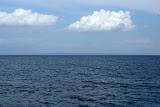 De zee met uitzicht op De Peloponnesus.