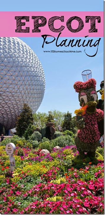 Epcot Planning Tips - Everything you need to know to plan your Disney World trip. Great Disney vacation tips, touring plan, best Fastpass+, tips and tricks, and more