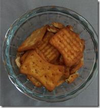 Cracker crisps reality