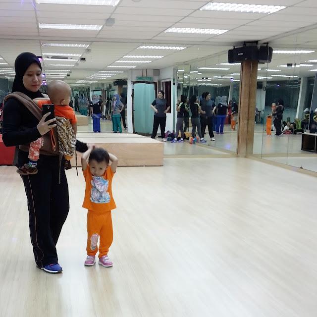 Pecahkan lemak dengan berzumba di Bandar Baru Bangi bersama anak-anak