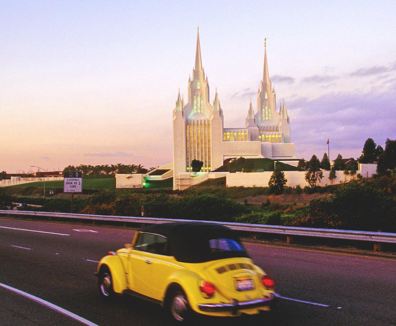 The San Diego Mormon Temple