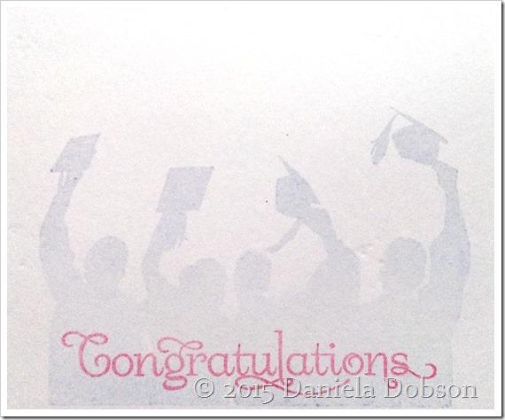 Congrats grad inside by Daniela Dobson