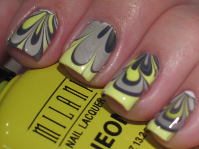 totally 80s water marble