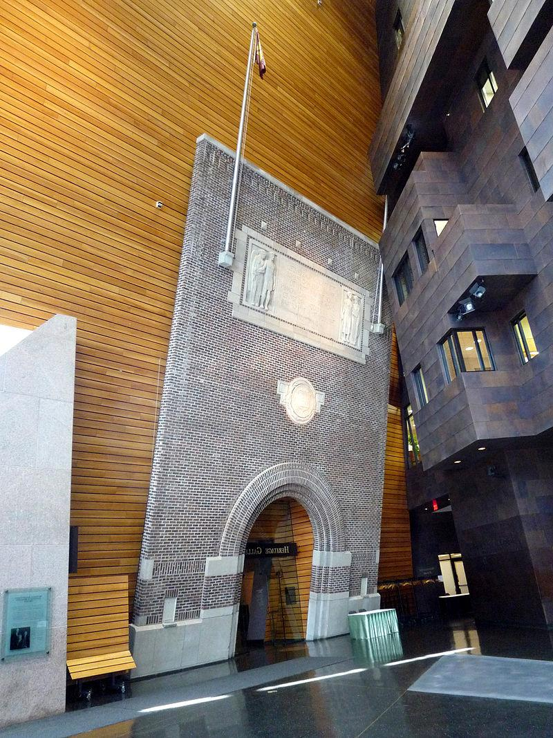 Arch in the McNamara Center