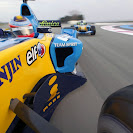 Renault R26 onboard launch