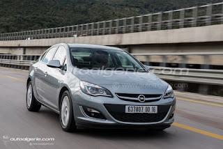 Diamal :Remise en baisse sur l'Opel Astra 4 portes