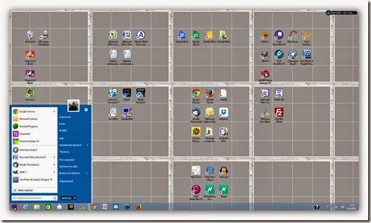 Työpöytä 8.1 kuin ennen