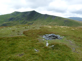 Bannerdale Crags Summit with Blencathra