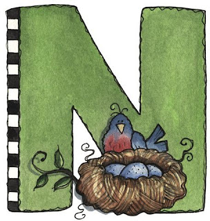 A is for Apple - Painted - Letter N.jpg