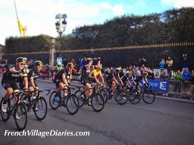 French Village Diaries Tour De France 2015 Paris Team Sky Chris Froome Yellow Jersey