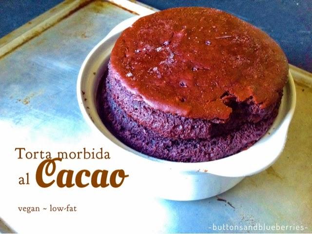 """Questa torta alta vegan al cioccolato qui a casa è stata la  più apprezzata che abbia mai fatto! È cioccolatosa e morbida, pochi grassi, non è asciutta come le torte """"versa e inforna"""" ma non è nemmeno troppo umida. E' perfetta!"""