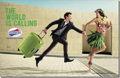 American Tourister The World is Calling - Hawaii